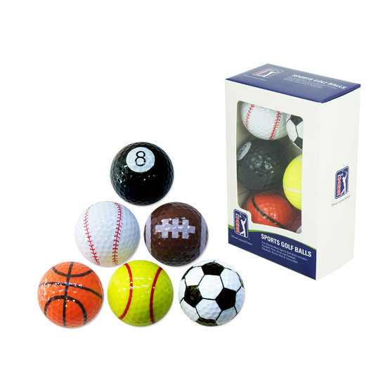PGA Tour Golfball Set Sport