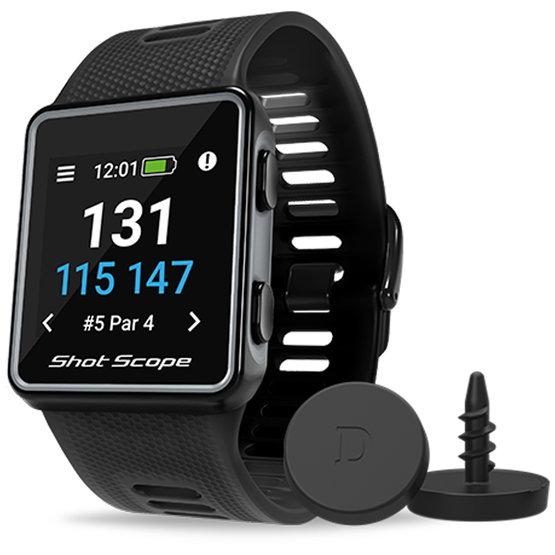Shot Scope V3 GPS-Uhr und Spielanalyse