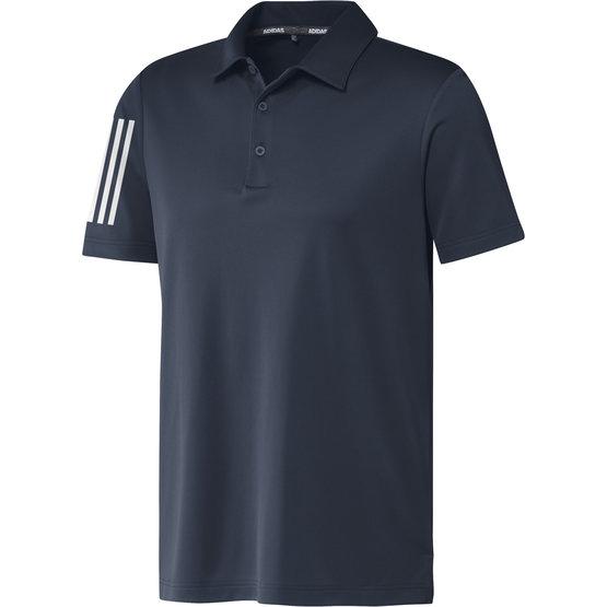 Image of Adidas 3-Stripe Basic Halbarm Polo navy