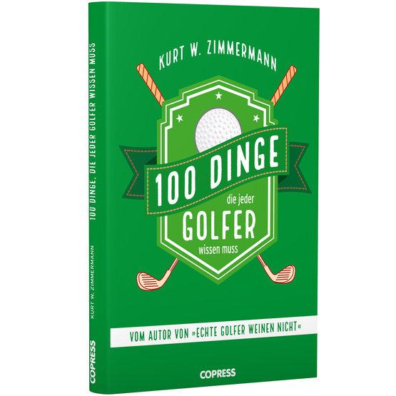 Image of Copress Sport 100 Dinge, die jeder Golfer wissen muss Bunt
